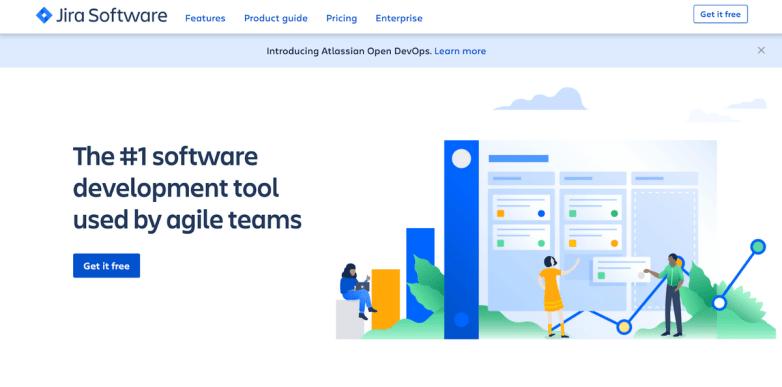Jira Software homepage