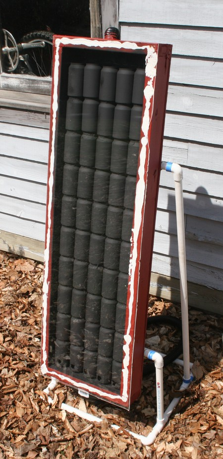 DIY Solar Garage Heater