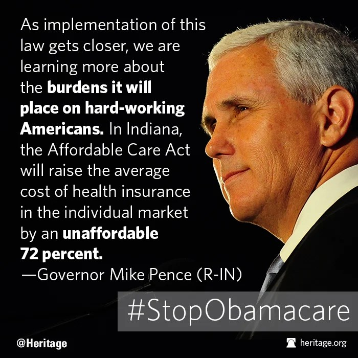 Pence on Obamacare