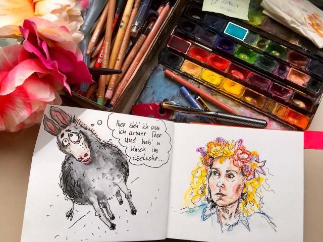 Eselsohr...Unfug macht kreativ Ulrike Martens