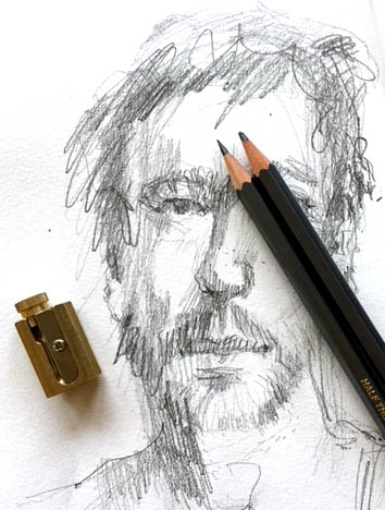 Sammelleidenschaft Zeichnen, einstellbarer Anspitzer Tine Klein