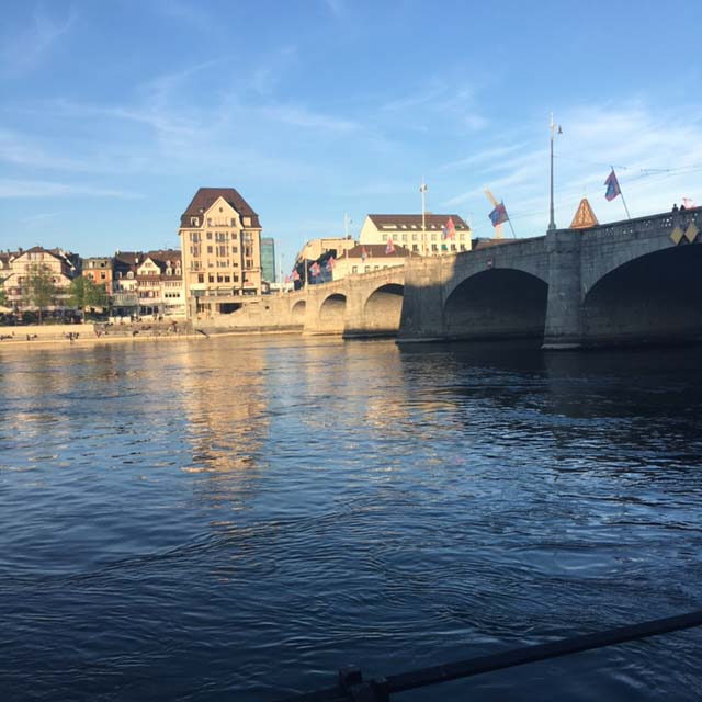Malreise nach Basel mit Tine Klein