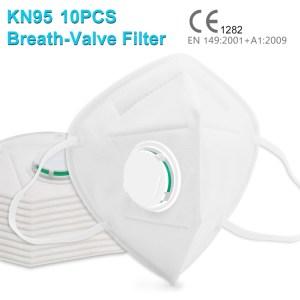 Masques KN95 avec filtre x 10