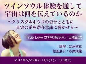 【ツインソウル体験】True Love 女神の暗示文で、あなたの魂を宇宙へと繋げます