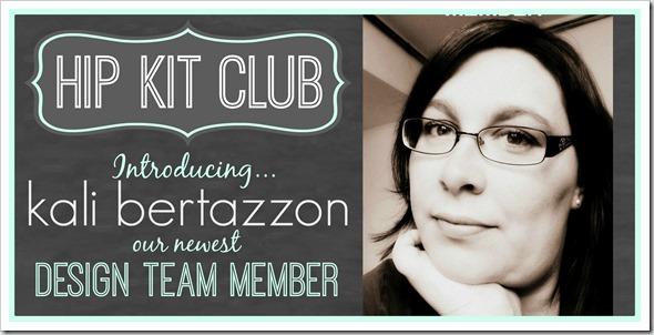 Kali Bertazzon 2014 DT Announcement
