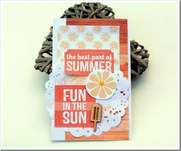 June 19 Summer Card