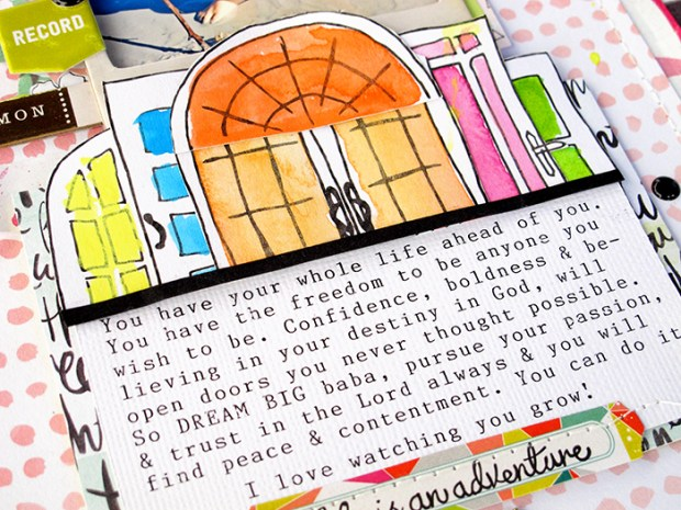 @hipkitclub #2015Februarykit  @KimWatson #scrapbooking #layout #papercrafts