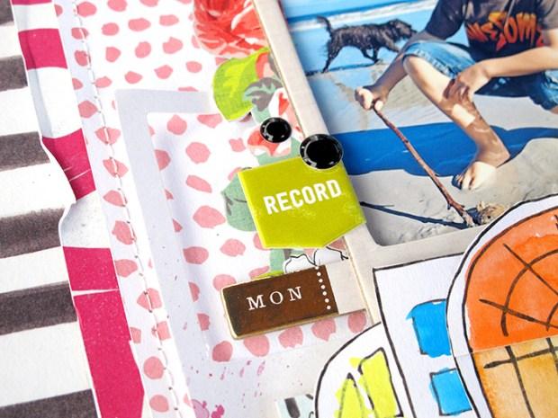 @hipkitclub #2015Februarykit @kKimWatson #scrapbooking #layout #papercrafts