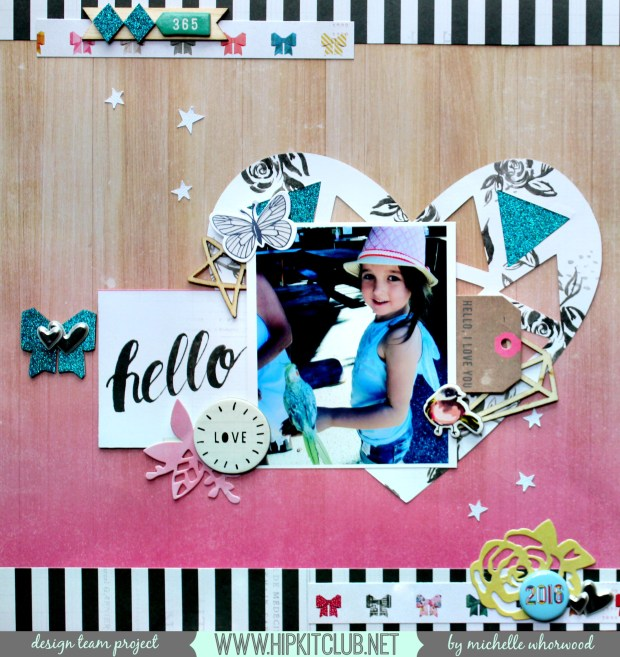 hello love banner