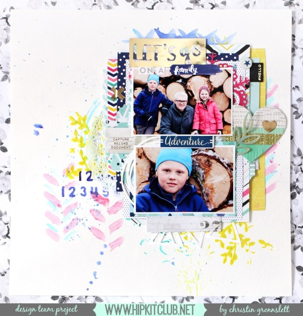Christin Gronnslett - Family Adventure - Hip Kit Club01