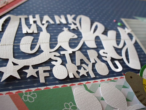 Thank my lucky Stars detail 2