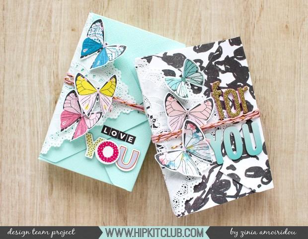 Envelope Gift Boxes by Zinia Amoiridou @abstractinspiraion @hipkitclub #abstractinspiration #ziniaamoiridou #hipkitclub #hipkits #papercrafts