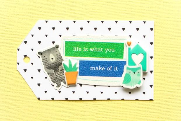 Adorable gift tags using Pinkfresh Studio Embellishments @abstractinspiration #abstractinspiration #ziniaamoiridou #hipkitclub #pinkfreshstudio #gifttags