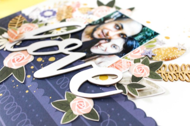 Scrapbook Layout by Zinia Amoiridou @abstractinspiration