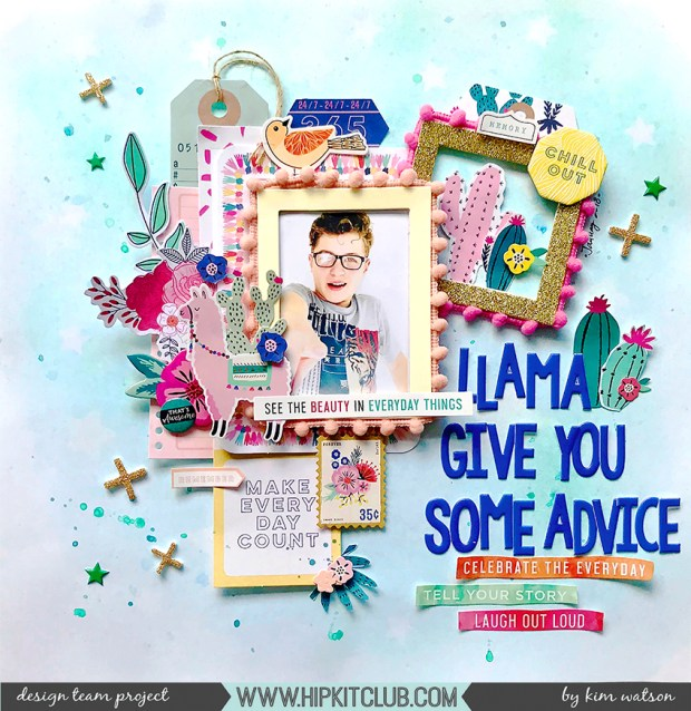 KimWatson_Llama Give you Advice_HKC01