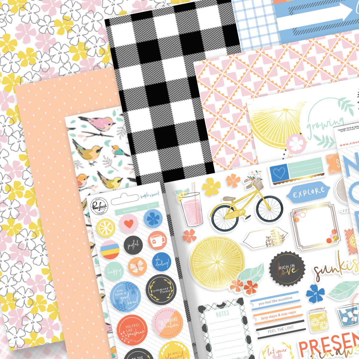 JUNE 2018 HIP KIT - SNEAK PEEK!