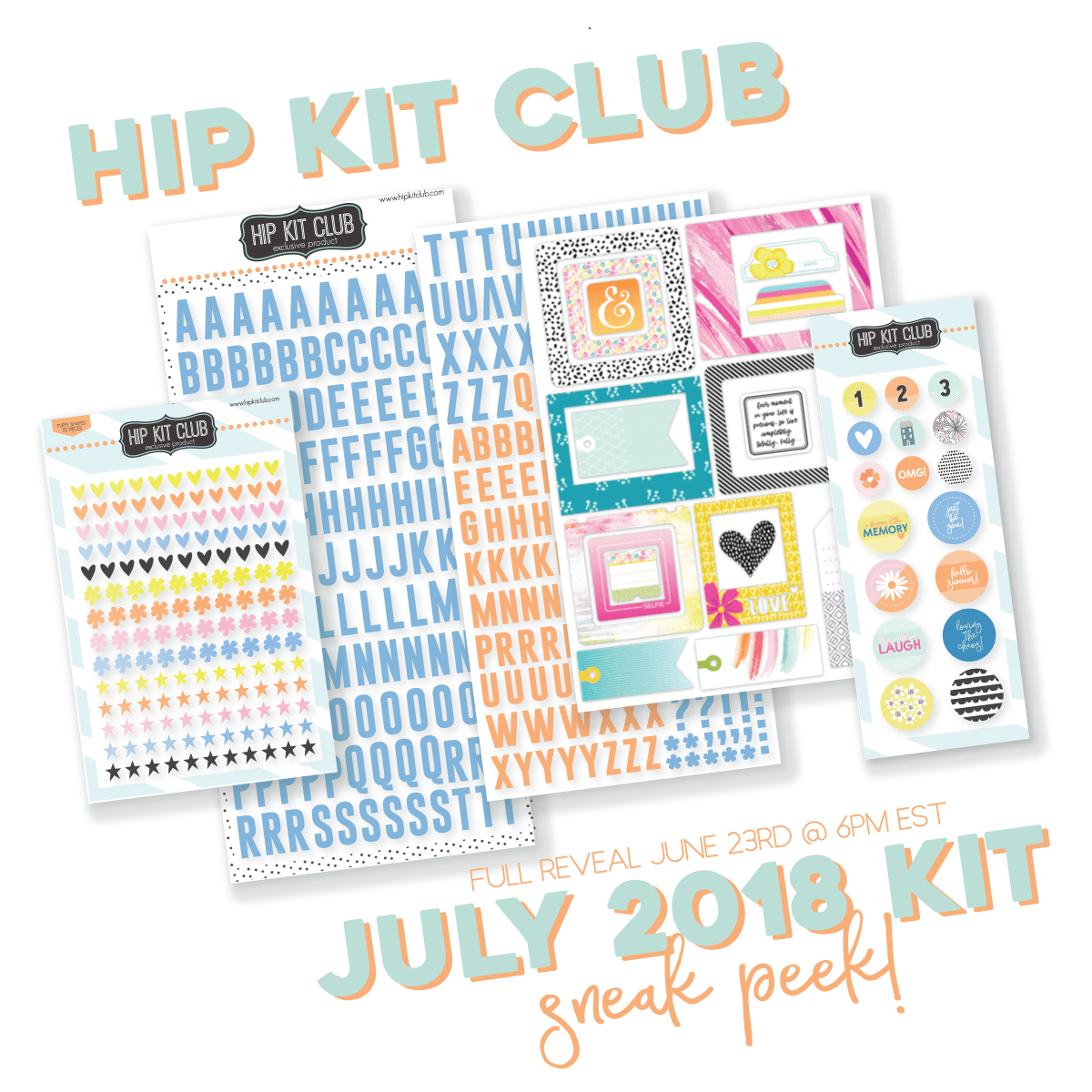JULY 2018 HIP KIT SNEAK PEEK #2...