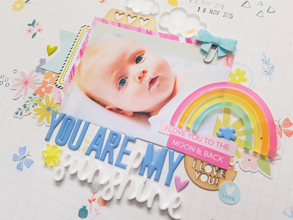 You Are My Sunshine | Mood Board Inspired | Tarrah McLean
