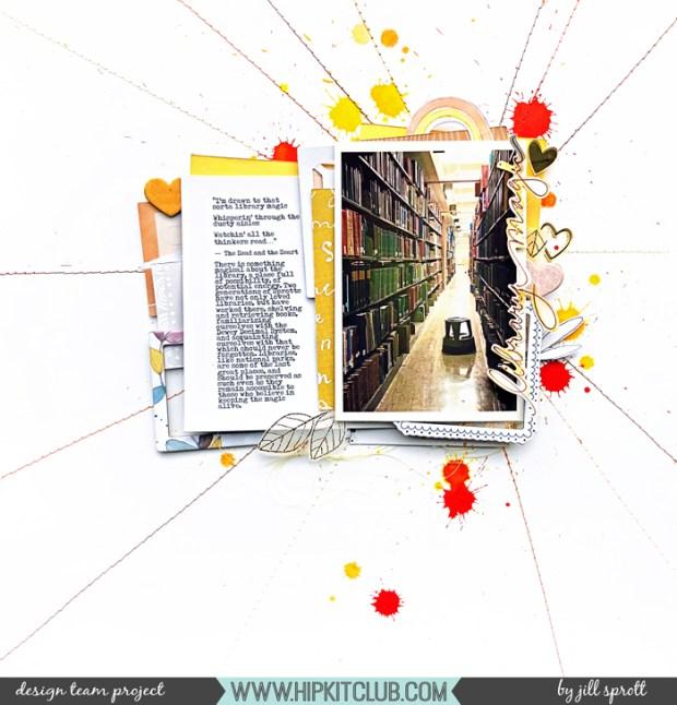 HKC Jill Library Magic BLOG
