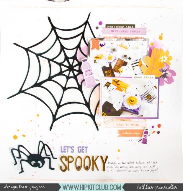 LetsGetSpooky_ScatteredConfetti_ScrapbookingLayout_HipKitClub_October_Halloween_1