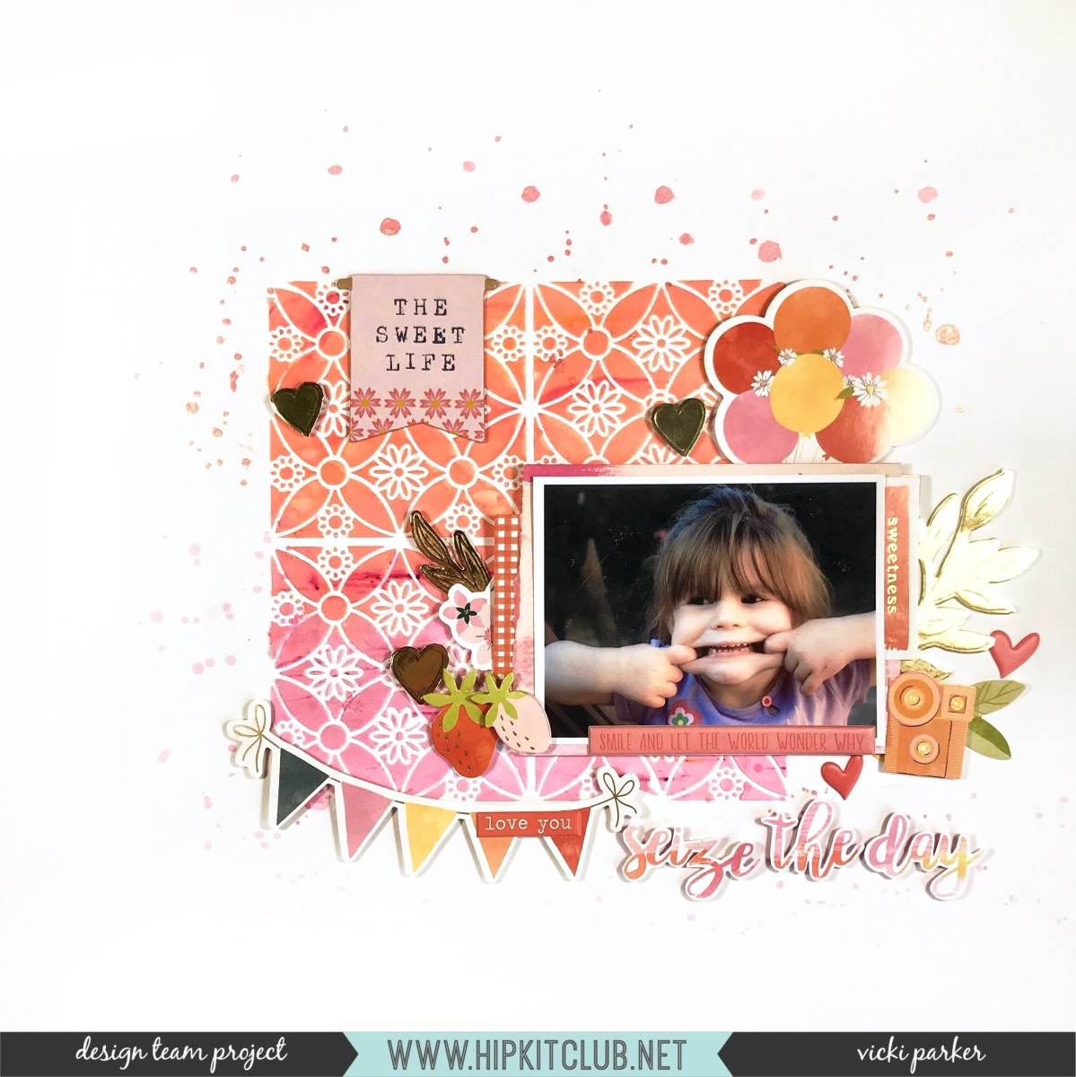 Ombre effect using mixed media | Vicki Parker