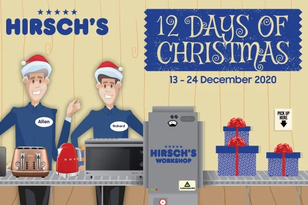 Hirsch's Homestore celebrates 12 Days of Christmas
