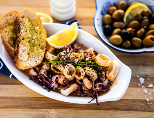 Paprika & Cream Calamari