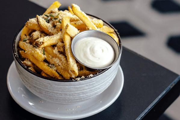 Air Fried Parmesan Cheese Fries