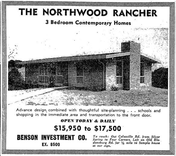 1952 Washington Post ad.