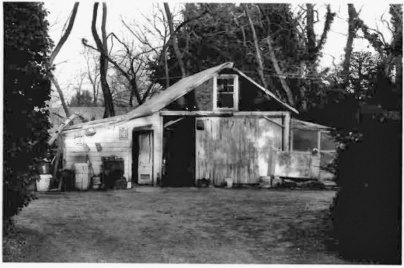 William Read House outbuilding, c. 1993. Credit: M-NCPPC/Maryland Inventory of Historic Properties form.