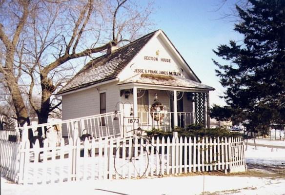 Jesse and Frank James Museum, Adair, Iowa.