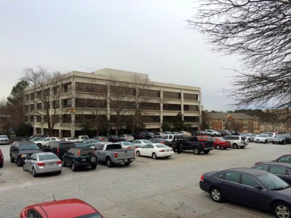 Callaway Building, former Antioch A.M.E. Church site. Photo by author, Jan. 2014.