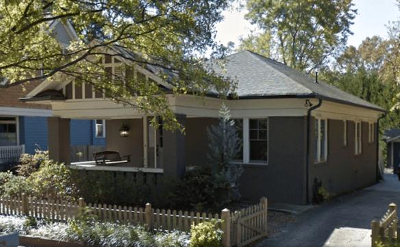 East Lake Dr. house, c. 2014. Credit: Google.