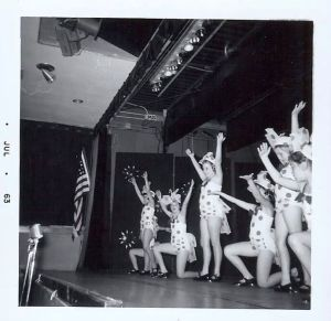 Alexander School production, c. 1963. Photo courtesy Kaye Giuliani.