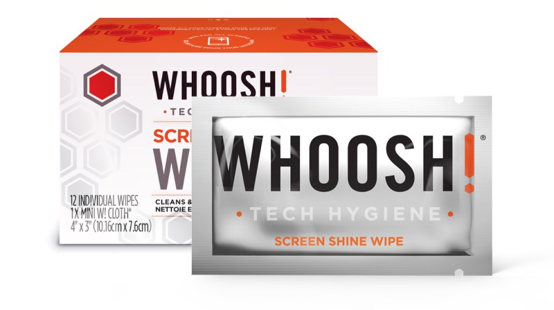 WHOOSH! Screen Shine wipes