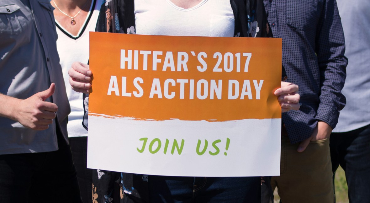 Join Hitfar in our fight against ALS