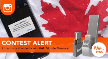 Hitfar is giving away Leef Mobile memory