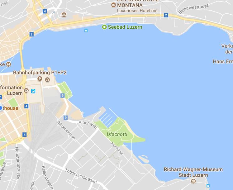 map ufschötti