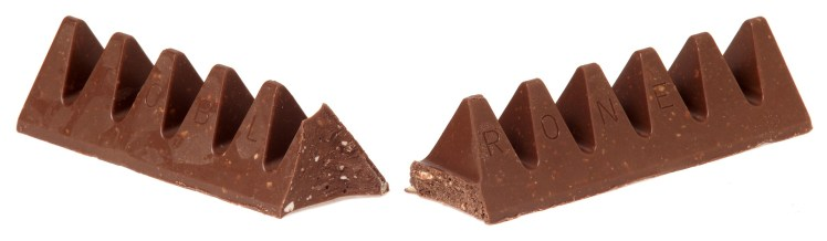 Swiss chocolate Toblerone