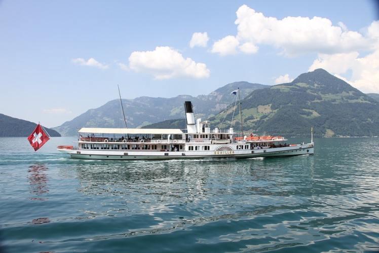 Schiff Schiller auf dem Vierwaldstättersee