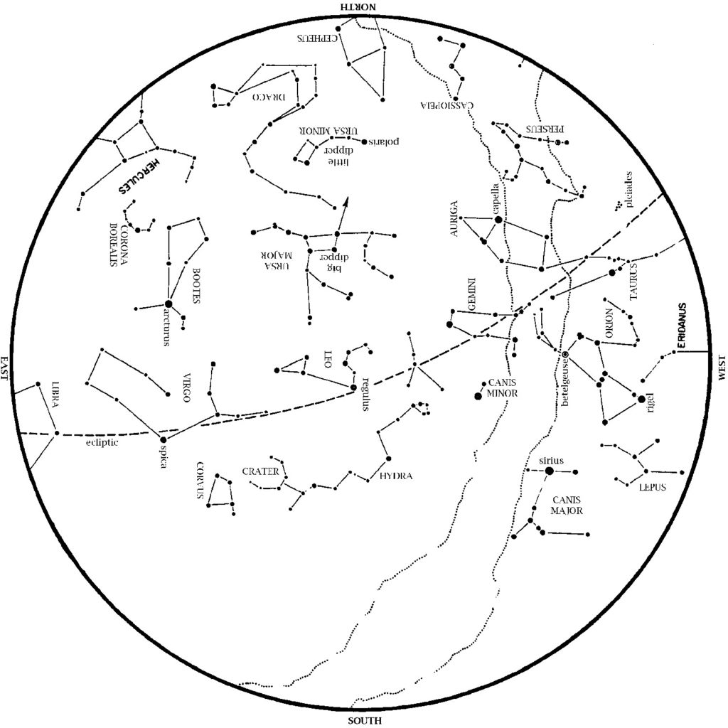 Astronomer S Guide To Houston S Night Sky