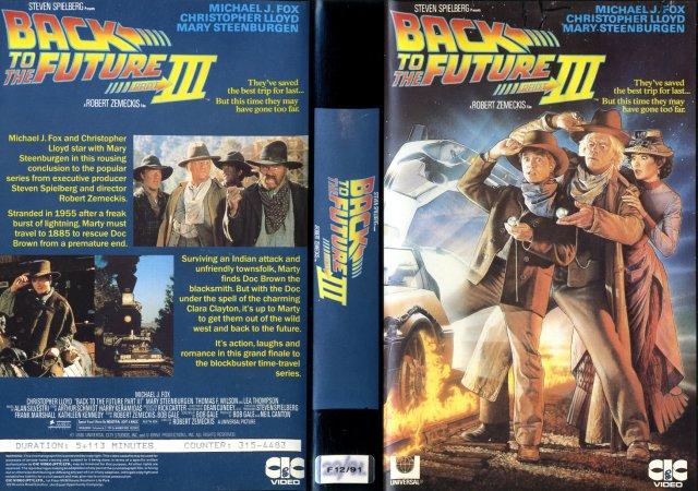BTTF III VHS