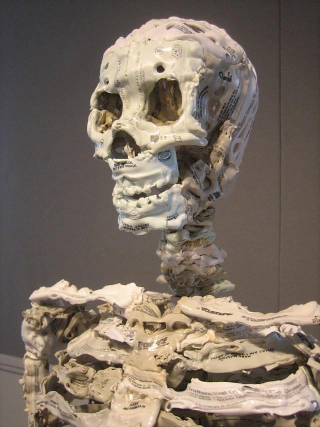 Brian Dettmer cassette skeleton