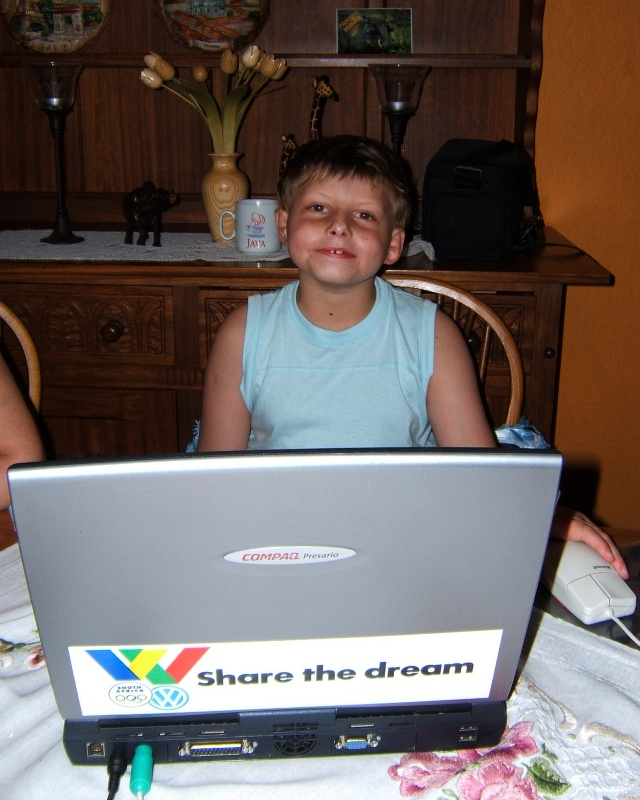 Share the dream but don't touch my laptop