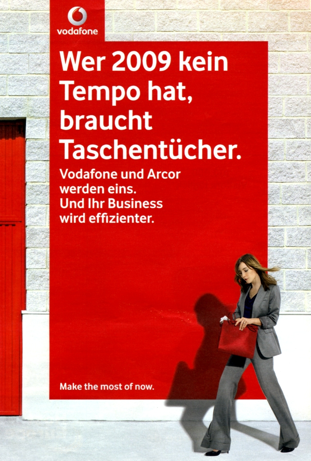 Vodafone buys Arcor, 2009