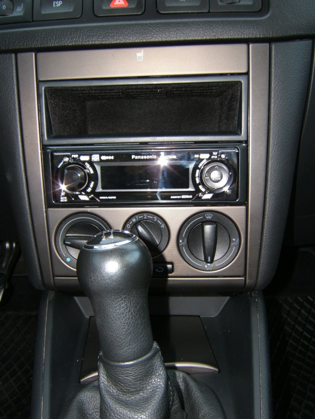 Shiny and unassuming head unit