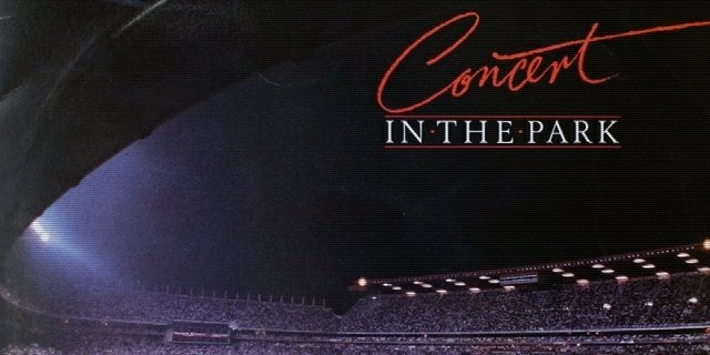 "Part of the ""Concert In The Park"" album cover"
