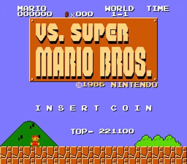 vs super mario brothers