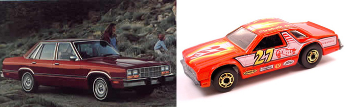 Hot Wheels Ford Fairmont Stocker