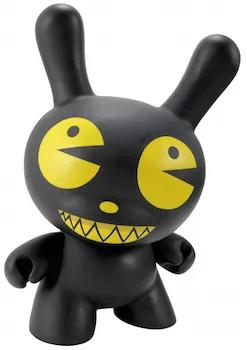 kidrobot black pac man dalek dunny